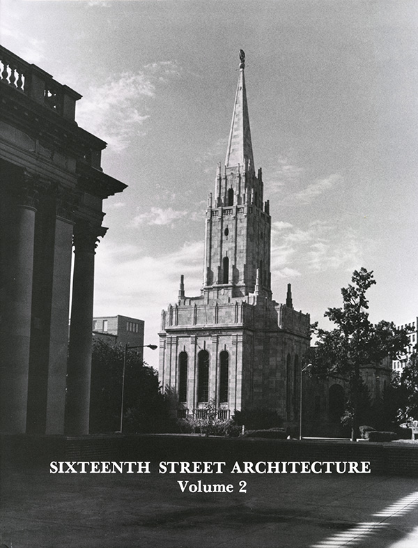Cover of Sixteenth Street Architecture