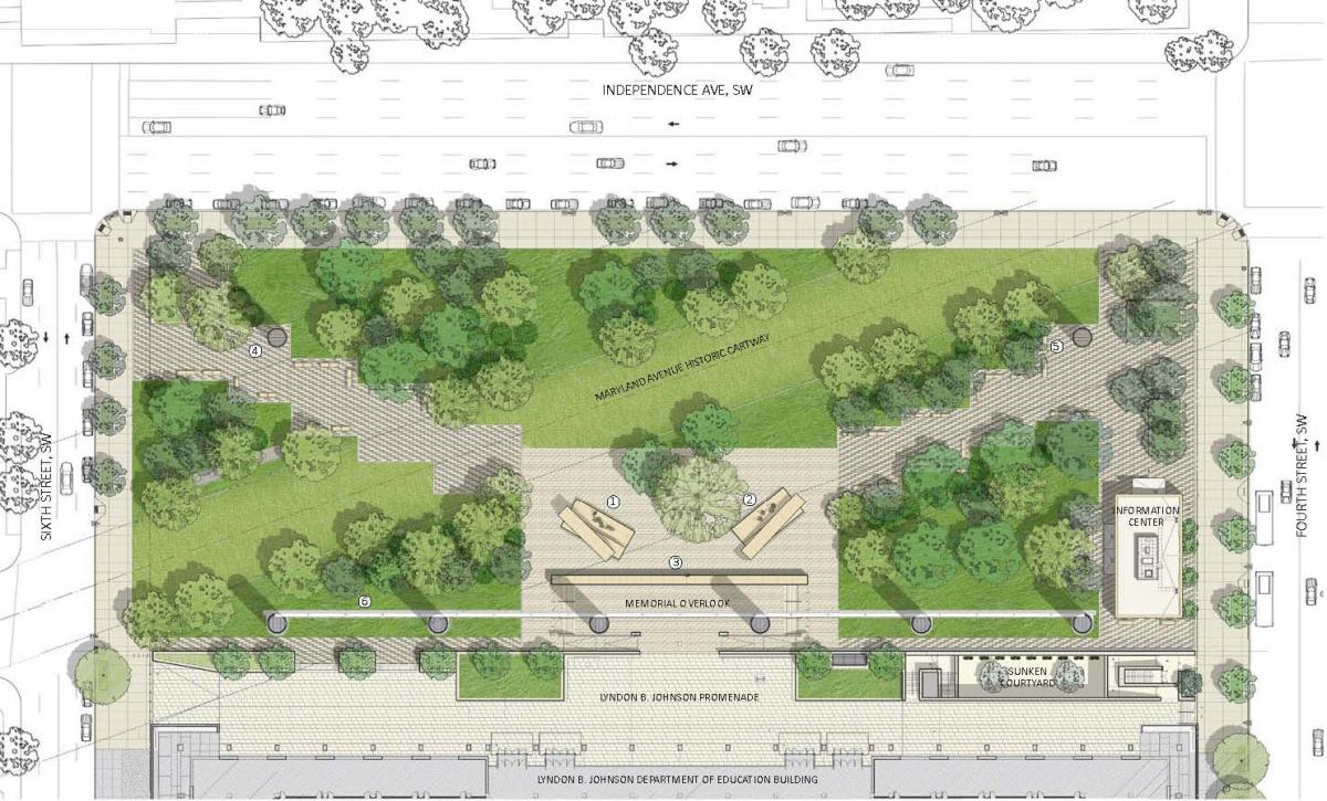 Eisenhower Memorial plan