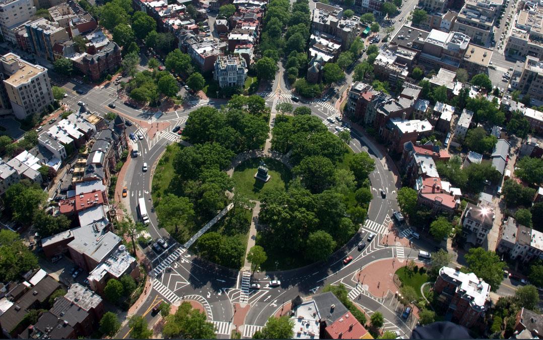 Logan Circle aerial