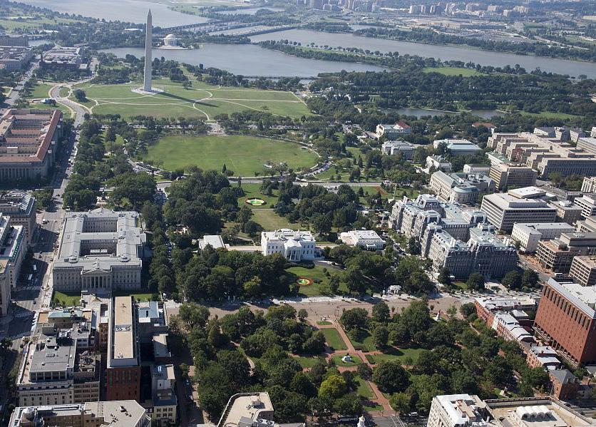 White House aerial