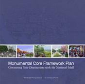 Cover of Monumental Core Framework Plan