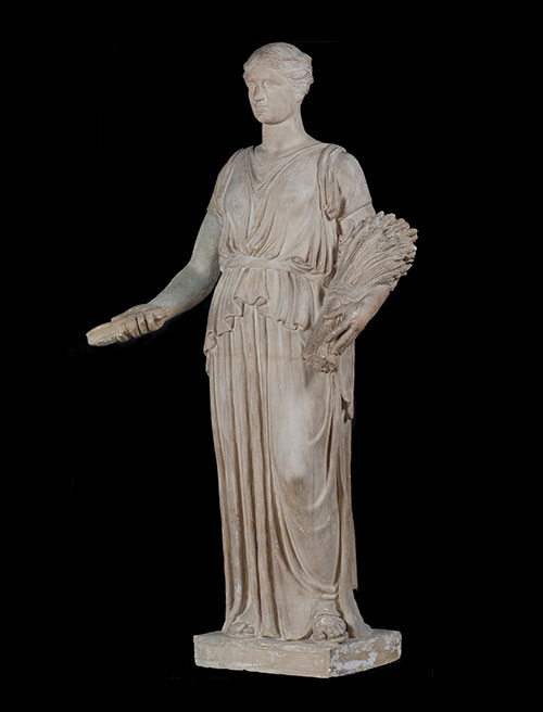 Thomas Hudson Jones, maquette of Ceres sculpture, Arlington Memorial Bridge