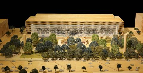 Dwight D. Eisenhower Memorial model