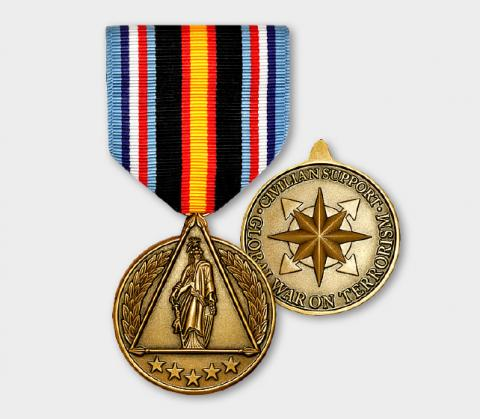 Global War on Terrorism Civilian Service Medal