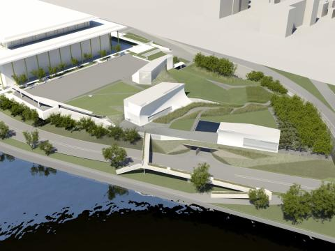 Kennedy Center Expansion rendering