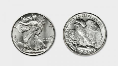 Walking Liberty Half Dollar