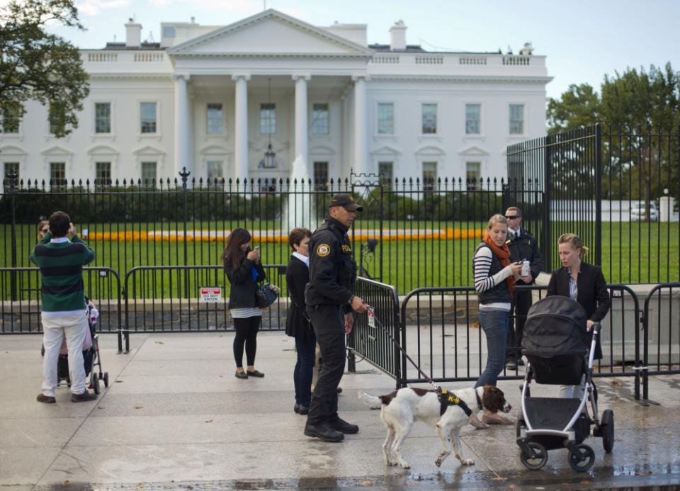 White House temporary security