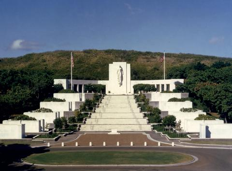 National Memorial Cemetery of the Pacific, Honolulu, Hawaii