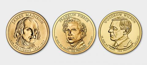 Presidential One Dollar Coins