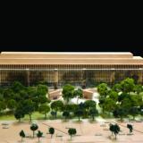 Eisenhower Memorial model