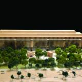 Eisenhower Memorial model